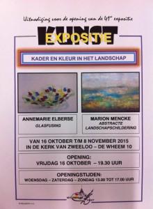 Expositie Marion in kerk in Zweeloo