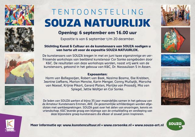 Expositie in Assen; 'Souza Natuurlijk'